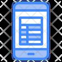 Smartphone Note App Smartphone Note Icon