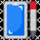 Smartphone Pen Icon