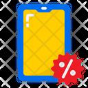 Smartphone Sale Mobile Sale Discount On Mobile Icon