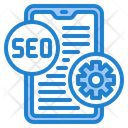 Smartphone Seo Optimization Icon