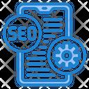 Smartphone Seo Optimization Seo Optimization Smartphone Icon