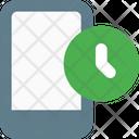 Smartphone Time Icon