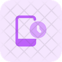 Smartphone Time Icon