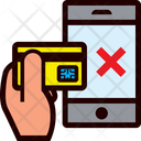 Smartphone Transaction Error Icon