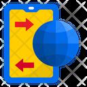Smartphone Transfer Smartphone Transfer Icon