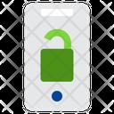 Smartphone Unlock Icon