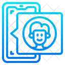 Smartphone User Icon