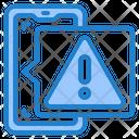 Smartphone Warning Icon