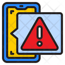 Smartphone Warning Icon
