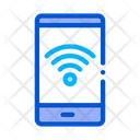 Smartphone Wi Fi Connection Icon