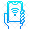 Smartphone Wifi Icon