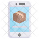 Smartphone with box Icon
