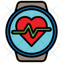 Smartwatch Healthandcare Heartrate Icon