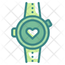 Smartwatch Heart Rate Icon