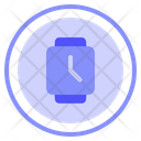 Smartwatch Clock Display Icon