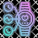 Smartwatch Electronics Watch Icon