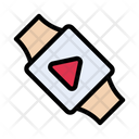 Smartwatch Video Play Icon