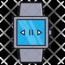 Smartwatch Player Audio Icon