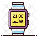 Smartwatch Smart Bracelet Modern Technology Icon