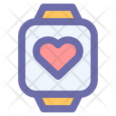 Smart Watch Time Icon