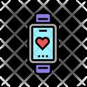 Heart Rhythm Watch Icon