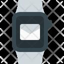 Smartwatch E Mail Wristwatch Icon