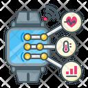 Smartwatch Technology Communication Icon