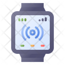 Smartwatch Connection Technology Icon