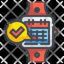 Smartwatch Wristwatch Watch Icon