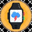 Smartwatch Weather Tracker Smartband Icon