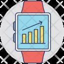 Smartwatch Computerized Wristwatch Icon