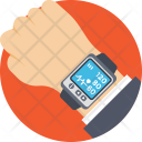 Wearable Tracker Fitness Icon