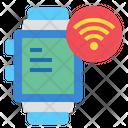 Smartwatch Technology Wifi Icon