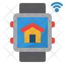 Smartwatch Home Signal Icon