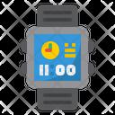 Smartwatch Digital Clock Icon