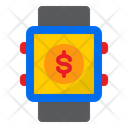 Smartwatch Pay Clock Icon