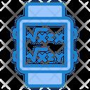 Smartwatch Clock Math Icon