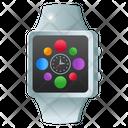 Digital Watch Smartwatch Wristwatch Icon
