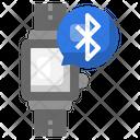 Smartwatch Bluetooth Technology Icon