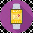 Smartwatch Wristwatch Timepiece Icon
