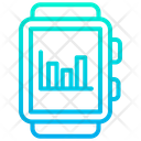 Smartwatch Analytics Icon