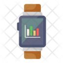 Smartwatch Chart Icon