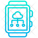 Smartwatch Cloud Icon