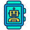 Smartwatch Robot Icon