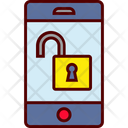 Unlocked Smartphone Unsecure Icon