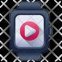 Video Watch Smartwatch Video Smartwatch Movie Icon