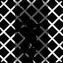 Smash Attack Badminton Icon