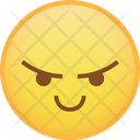 Smile Angry React Icon