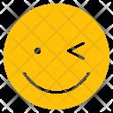 Smile Happy Wink Icon