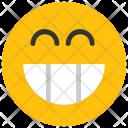 Wide Grin Emoji Icon